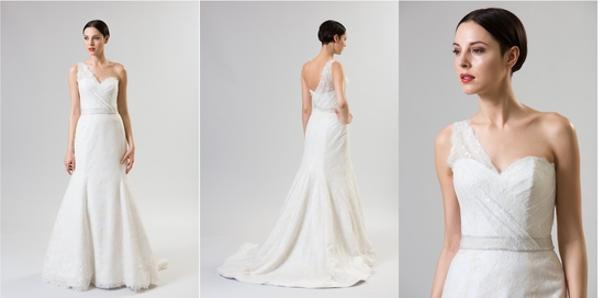 classic and modern junko yoshioka summer spring 2014 wedding dress brioche