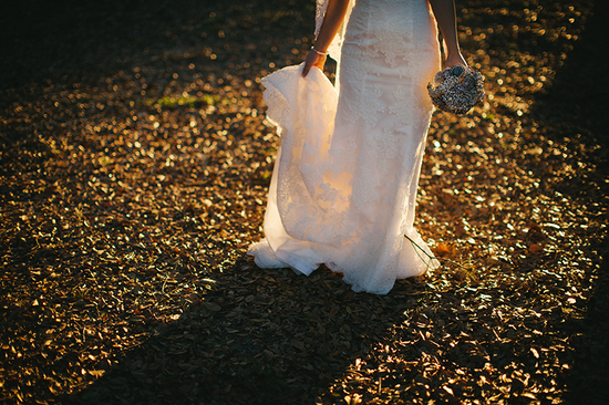 lace sheath wedding dress bridal portrait detail