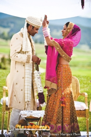 Indian wedding in Keystone, Colorado