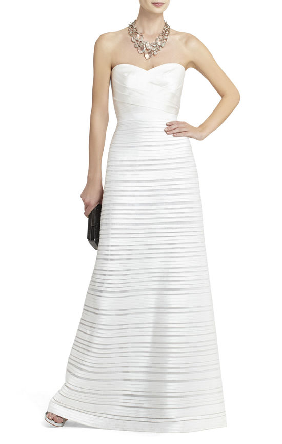 BCBG wedding gown 2013 bridal