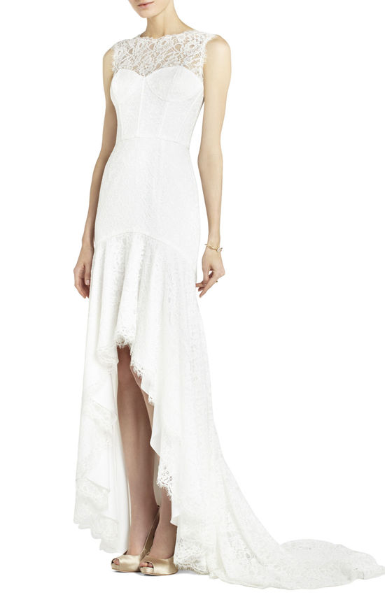BCBG wedding dress Max Azria Bridal Clarissa