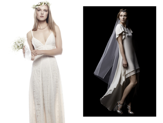 BCBG bridal collection daring affordable wedding dresses and accessories