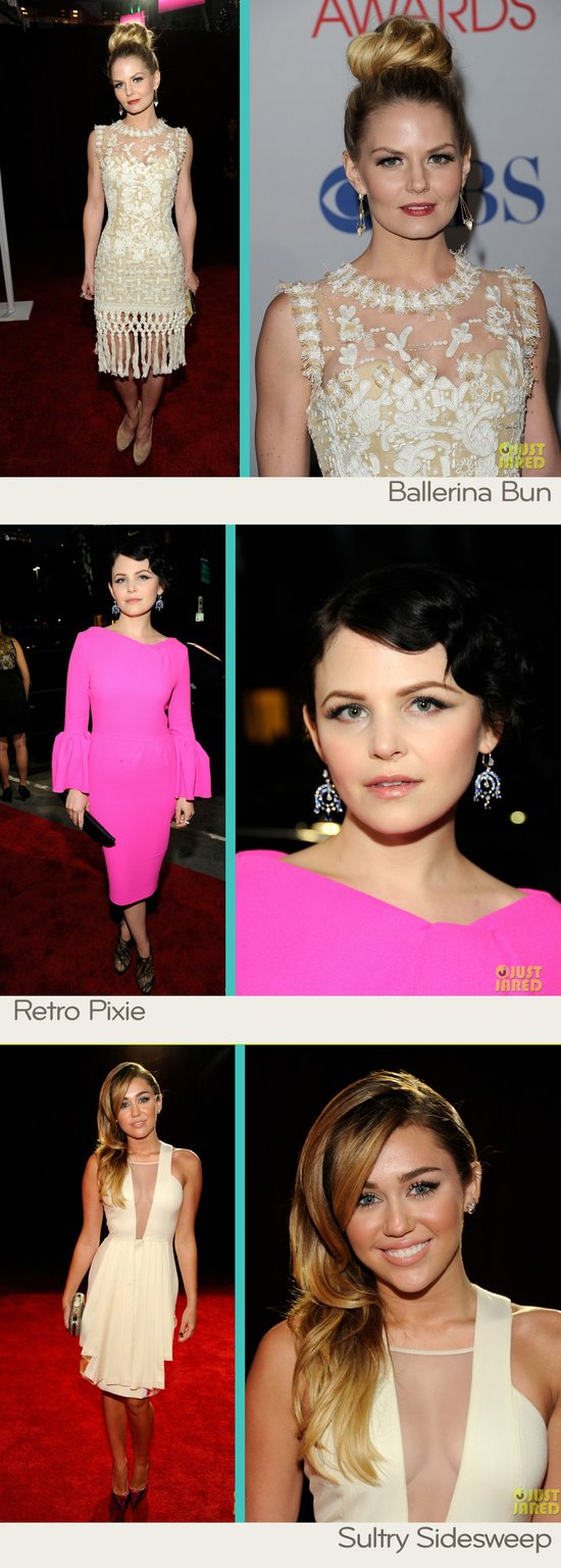 Wedding hair inspiration from the red carpet- 2012 People's Choice