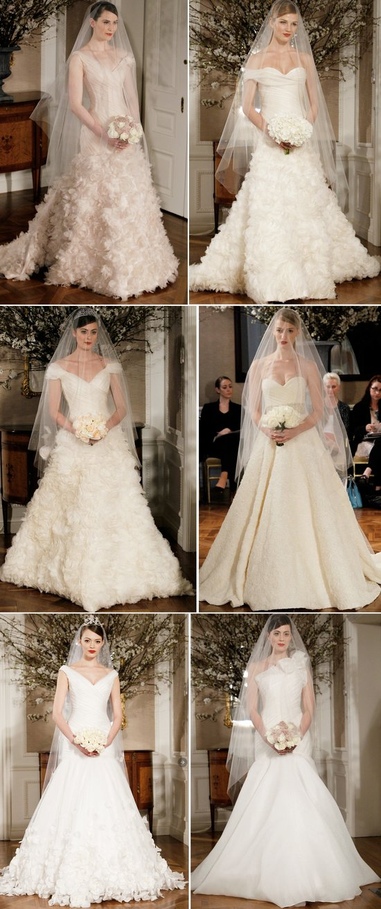 romona keveza wedding dresses spring 2012 bridal gowns