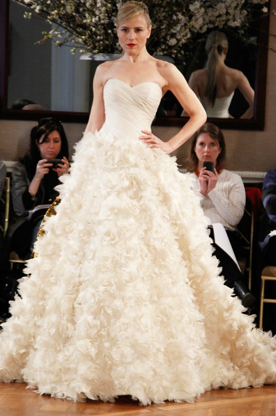 romona keveza wedding dress spring 2012 bridal gowns sweetheart ballgown