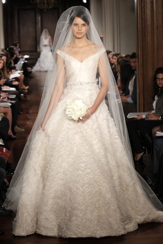 romona keveza wedding dress fall 2012 bridal gowns fairytale ballgown off shoulder
