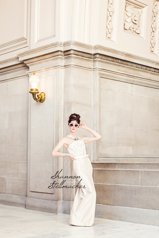 Breakfast at Tiffanys bridal style wedding inspiration 7