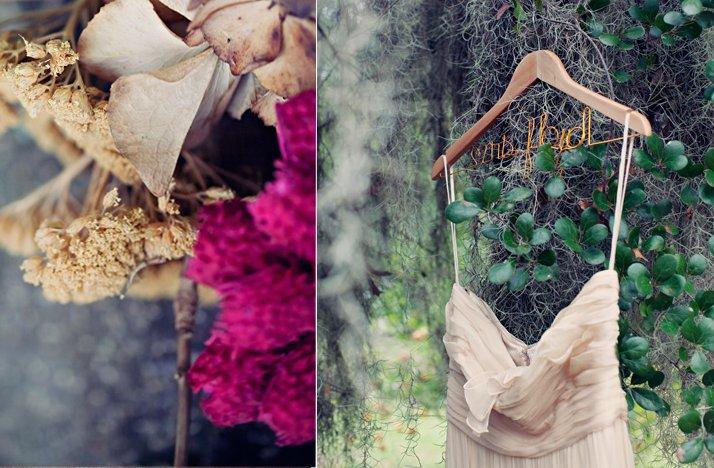 Outdoor-weddings-bohemian-bridal-gown-wedding-flowers.full