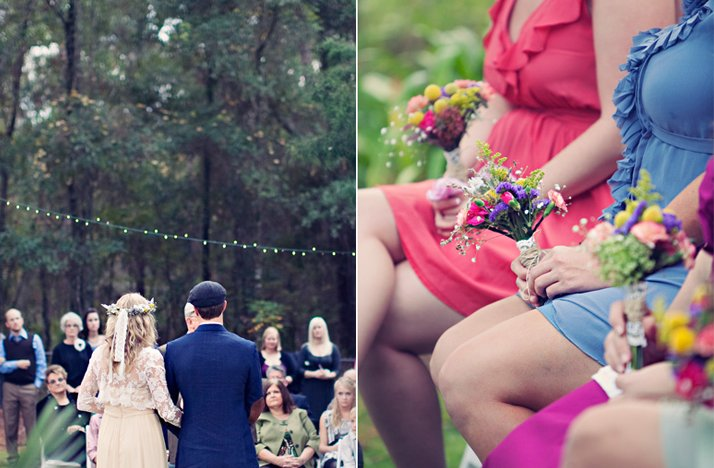 Outdoor-bohemian-wedding-ceremony-bride-groom-at-altar.full