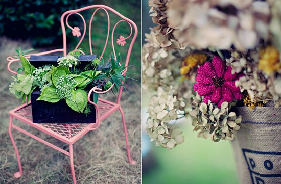 outdoor weddings colorful wedding flowers outdoor ceremony