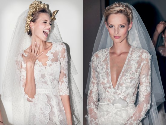 photo of Pronovias Catwalk Bridal Beauty Inspiration