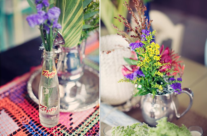Outdoor-wedding-colorful-wild-flowers-centerpieces.full