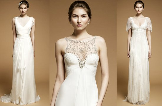 2012 wedding trends sheer touches wedding dress