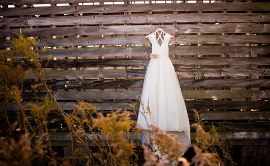 rustic barn wedding IL photographers classic bridal gown