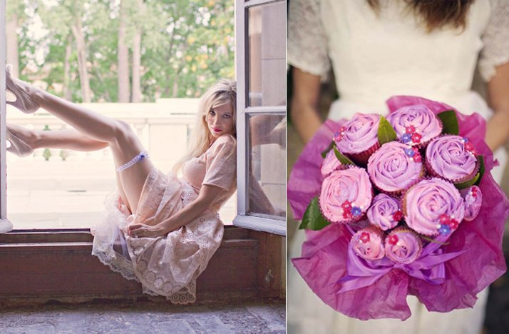 2012 wedding trends ditching tradition bridal bouquet toss garter toss