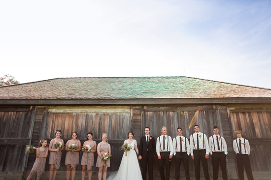 rustic barn wedding IL photographers groom gets ready