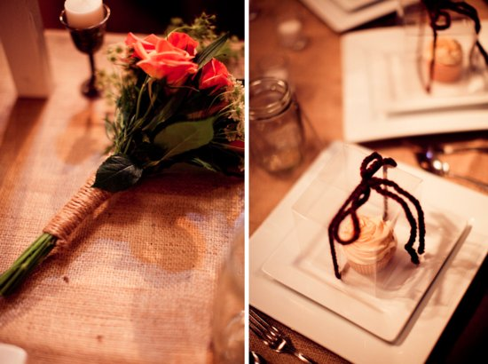 rustic barn wedding IL photographers reception details brides bouquet