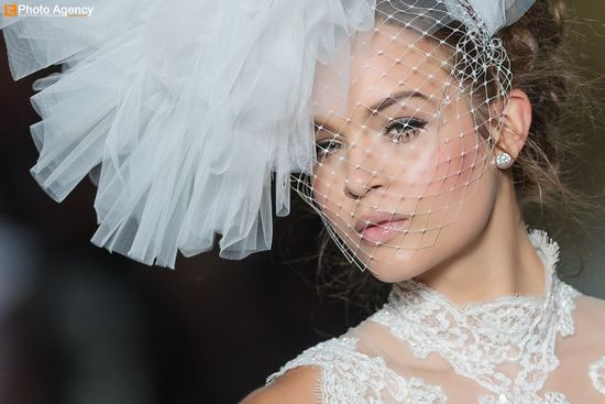 Pronovias bridal wedding makeup inspiration 2014 catwalk 1