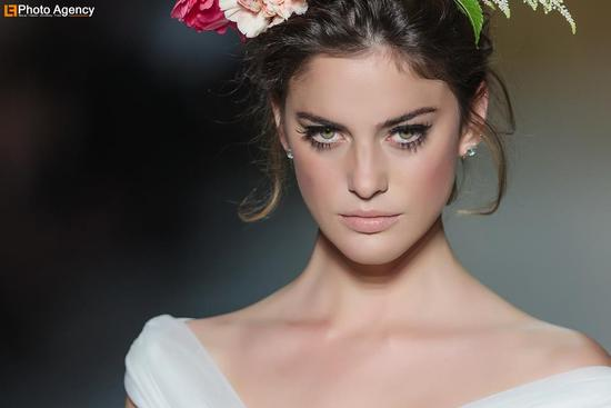 Pronovias bridal wedding makeup inspiration 2014 catwalk 3