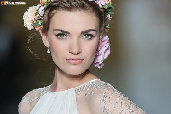 Pronovias bridal wedding makeup inspiration 2014 catwalk 4