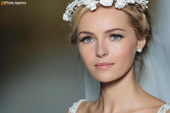 Pronovias bridal wedding makeup inspiration 2014 catwalk 6