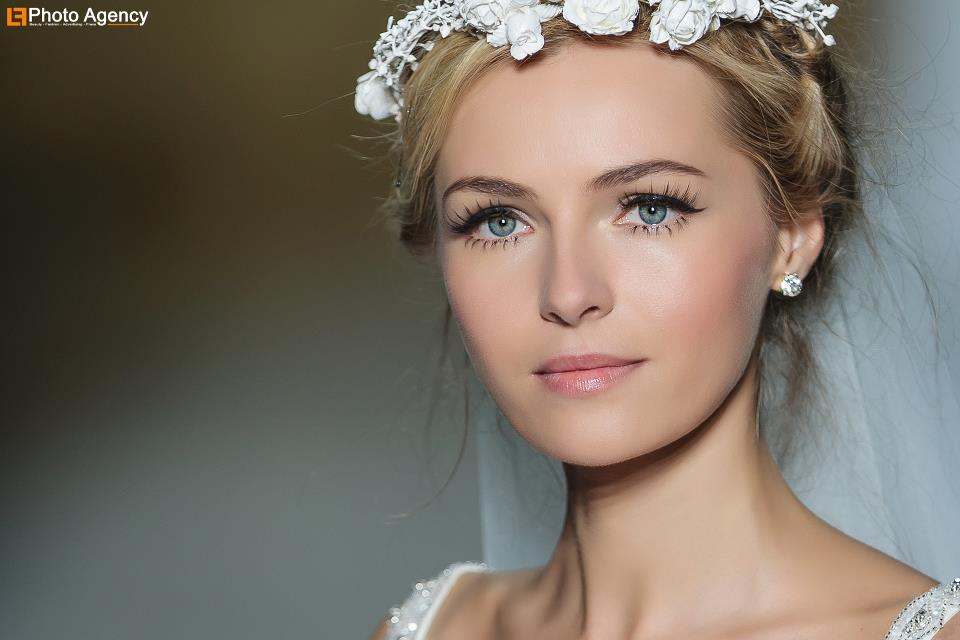 Pronovias bridal wedding makeup inspiration 2014 catwalk 6 ...