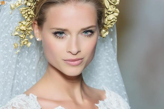 Pronovias bridal wedding makeup inspiration 2014 catwalk 8