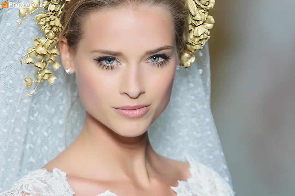 Pronovias Real Wedding Inspiration: Pronovias Bridal Wedding Makeup Inspiration 2014 Catwalk 8