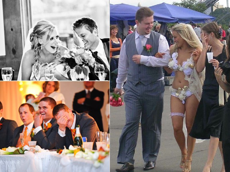 Cringe-worthy-wedding-moments-bride-groom-laugh-during-toast.full