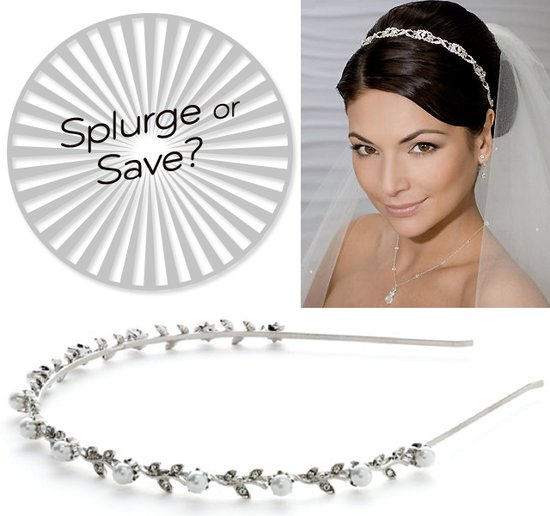photo of Splurge Vs. Save: Bejeweled Bridal Headbands