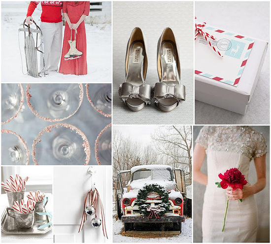 photo of Sparkling Winter Wedding Inspiration