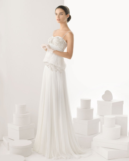 Rosa Clara wedding dress 2014 bridal Carol