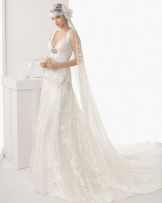 Rosa Clara wedding dress 2014 bridal Calima