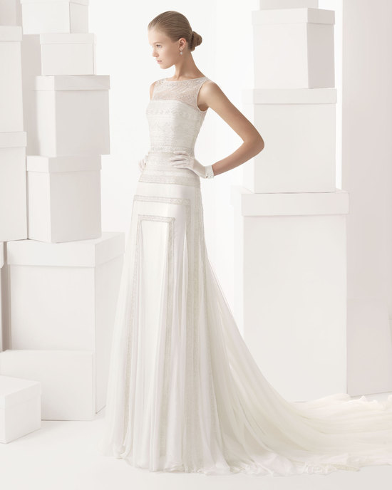Rosa Clara wedding dress 2014 bridal Cintia