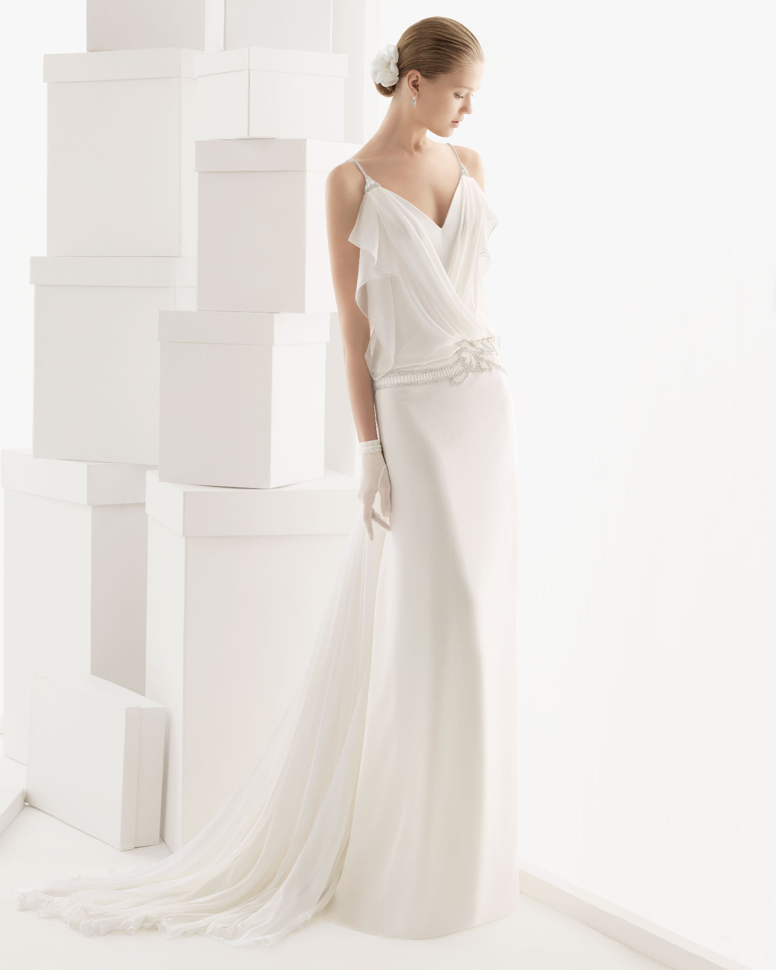 Rosa clara wedding dress 2014 bridal ciclamen for Rosa clara wedding dresses 2014
