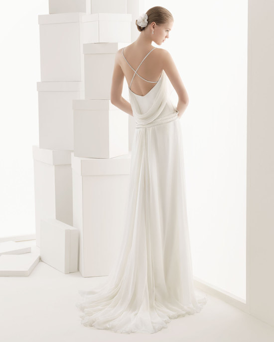 Rosa Clara wedding dress 2014 bridal Ciclamen