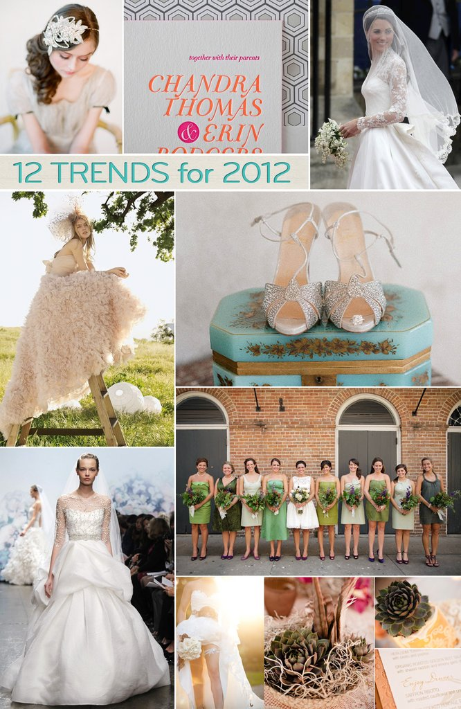 photo of Top 12 Trends for 2012 Weddings—Revealed!