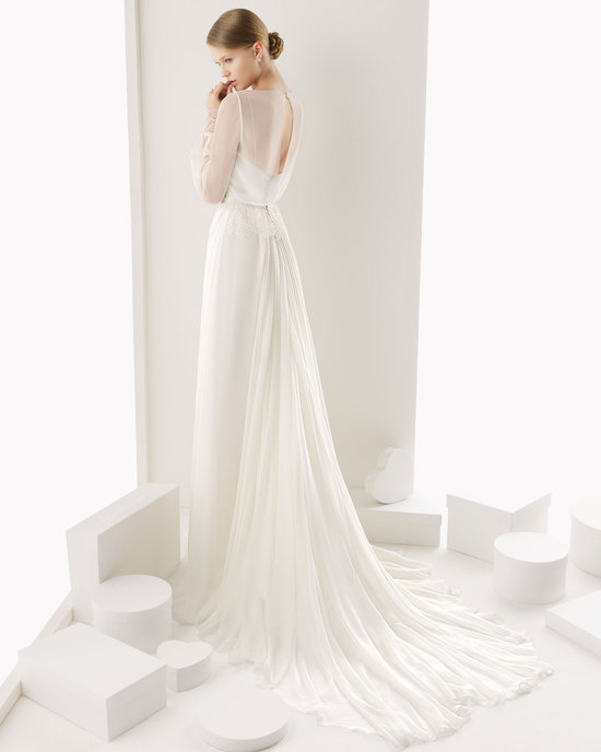 Rosa Clara wedding dress 2014 bridal Ceuta