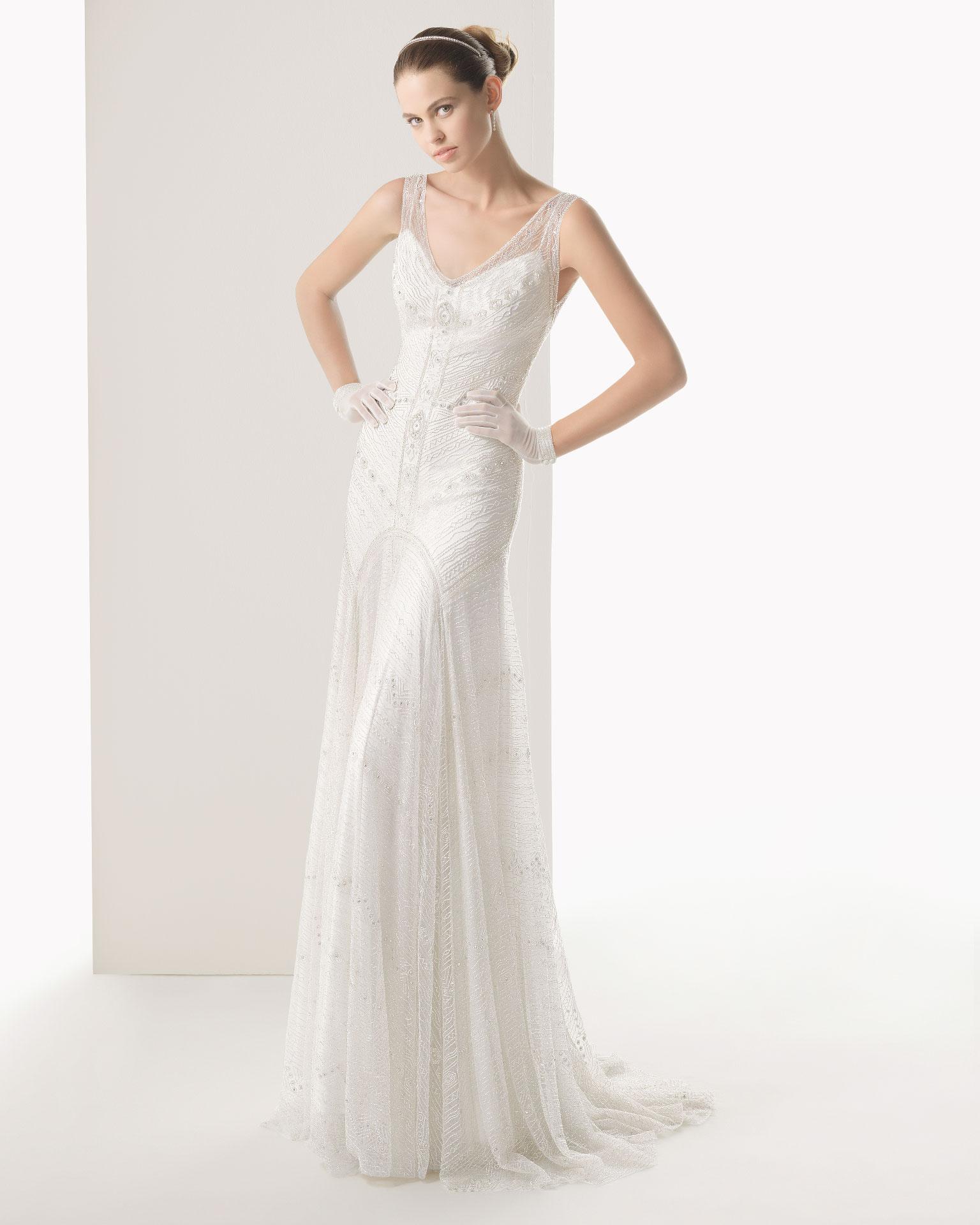 Rosa clara wedding dress 2014 bridal copla for Rosa clara wedding dresses