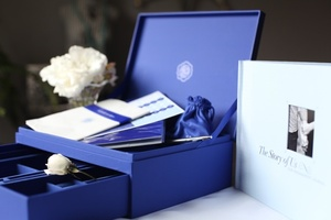 photo of mc wedding giveaway tacori engagement journal