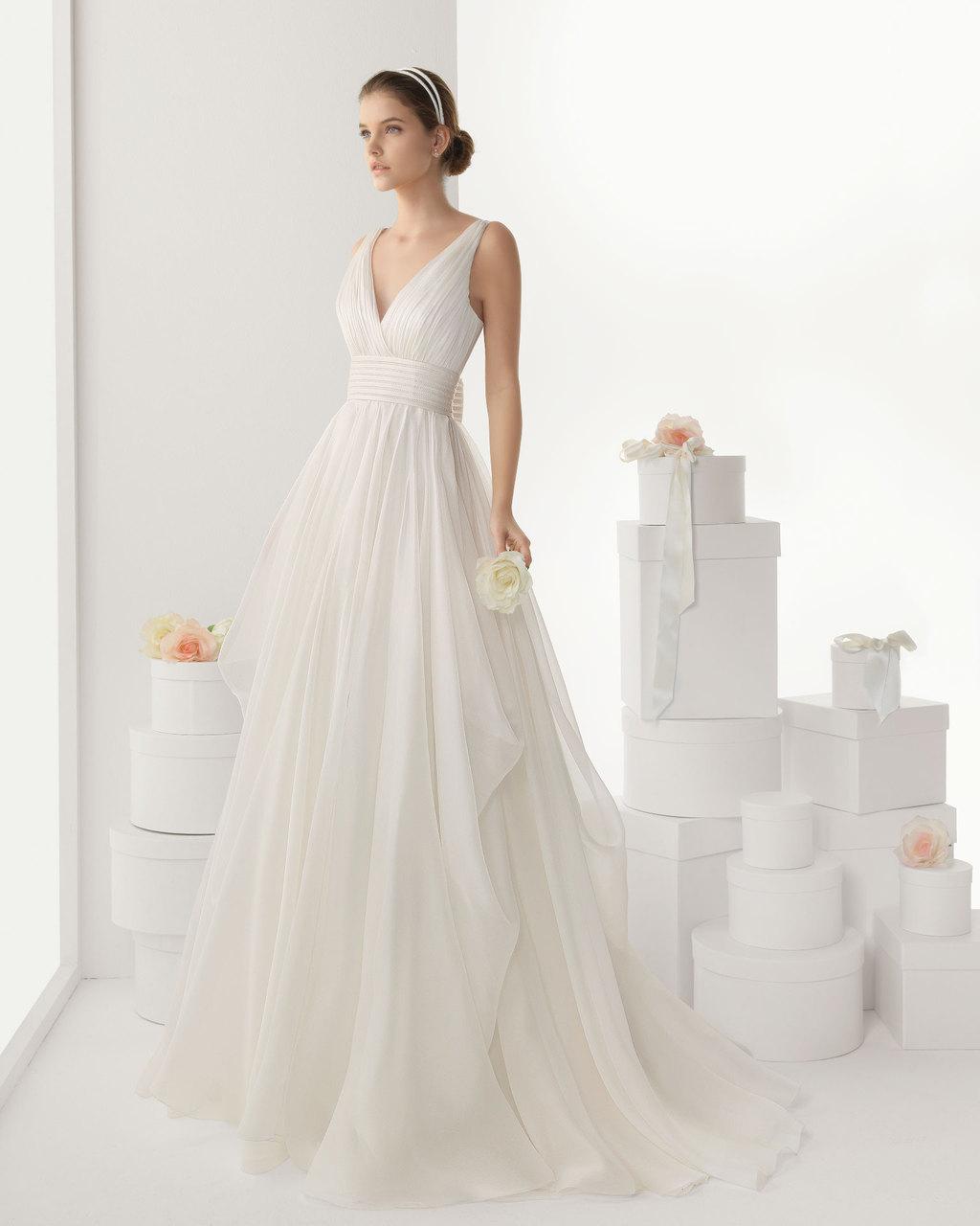 Rosa clara wedding dress 2014 bridal cantabria for Rosa clara wedding dresses 2014