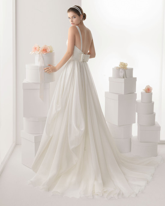 Rosa Clara wedding dress 2014 bridal Cantabria