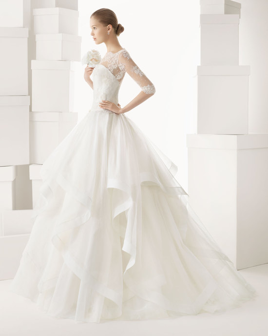 Rosa Clara wedding dress 2014 bridal Cazorla