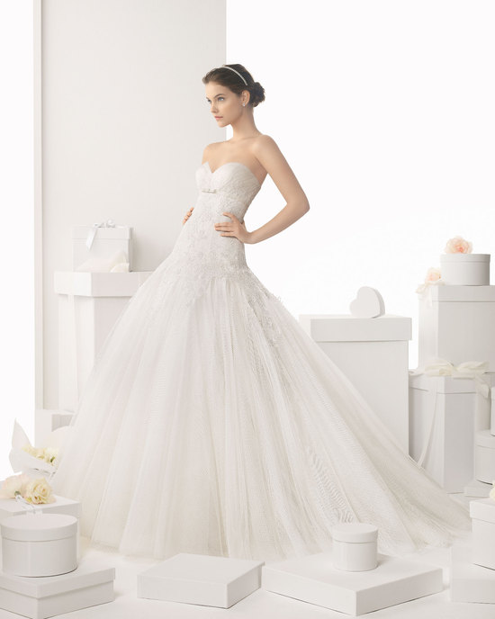 Rosa Clara wedding dress 2014 bridal Calafell
