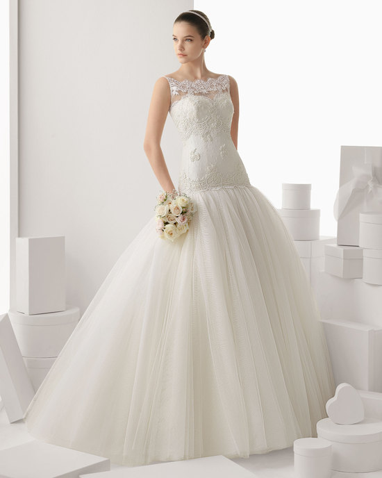 Rosa Clara wedding dress 2014 bridal Calella