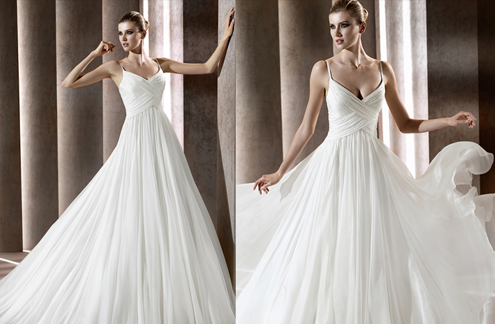 Satis wedding dress 2012 bridal gowns elie saab for Elie saab 2012 wedding dresses