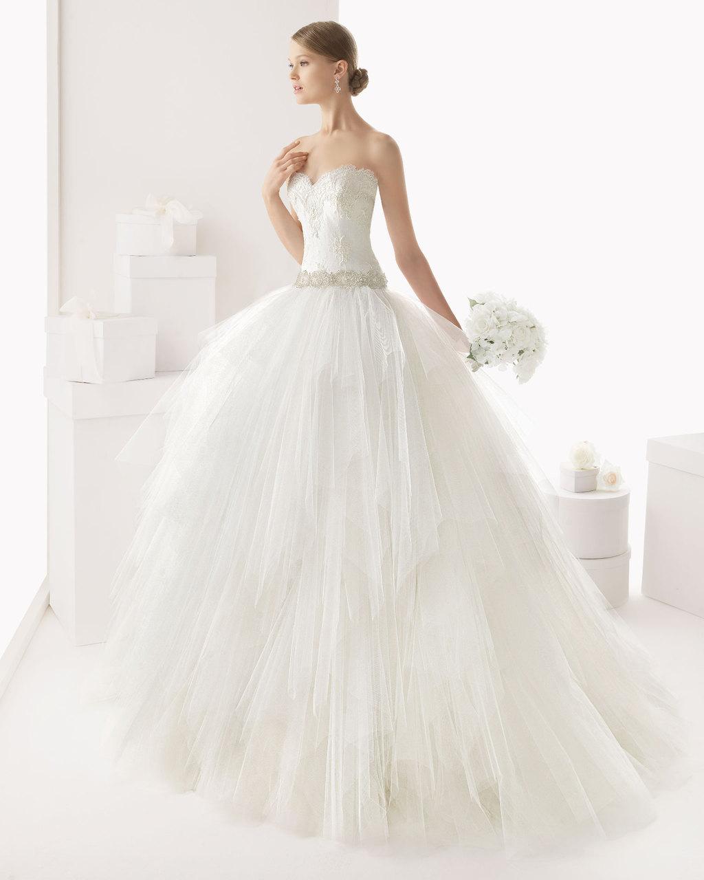 Rosa clara wedding dress 2014 bridal castro for Rosa clara wedding dresses 2014