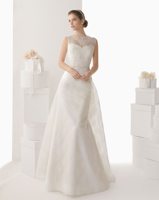 Rosa Clara wedding dress 2014 bridal Candela