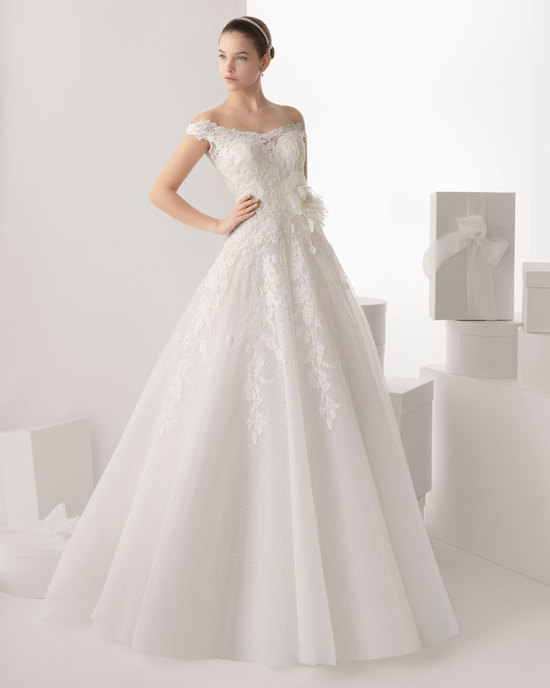 Rosa Clara wedding dress 2014 bridal Carmona