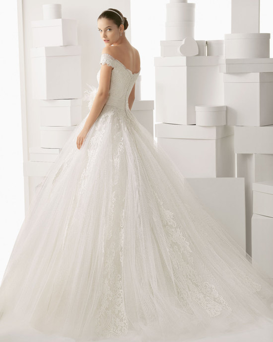 Rosa Clara wedding dress 2014 bridal Carmina